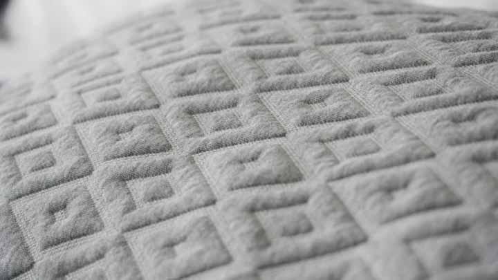 Eli & Elm shredded foam pillow review - cotton, nylon, and polyester