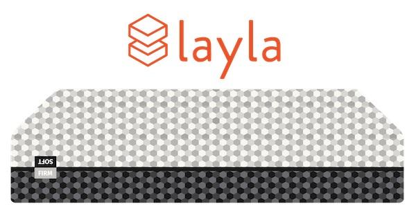 Layla - best memory foam mattress for couples