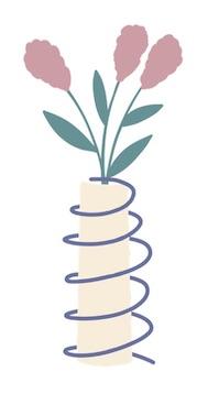 Mattress Springs Flower Vase