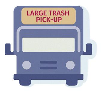 Truck For Large Trash Pick-Up