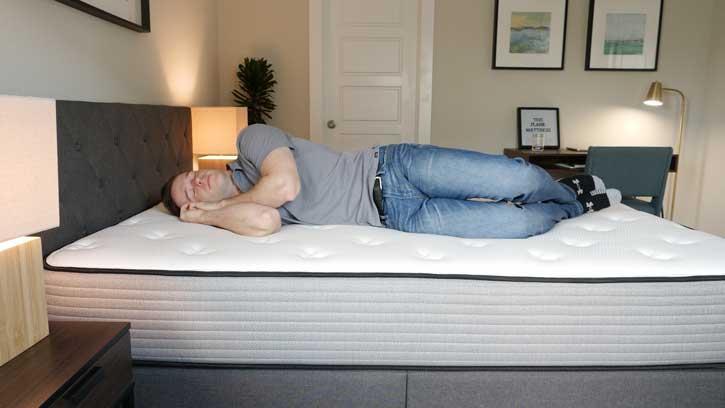 Plank Mattress - Side Sleeping