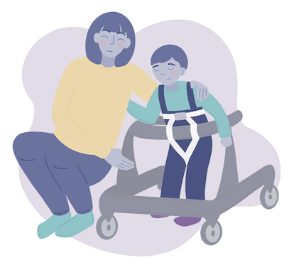 Caregiver With Disabled Child