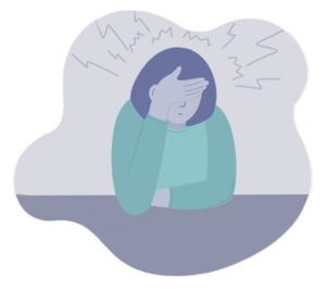 Disabled Adult Stresses About Sleep