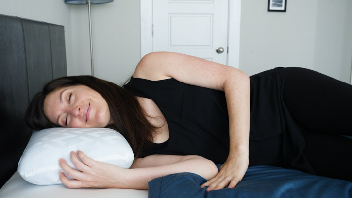 Malouf Body Pillow for Pregnancy and Side Sleeping