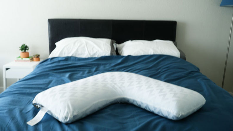 Malouf L Shape Memory Foam Body Pillow Review Who