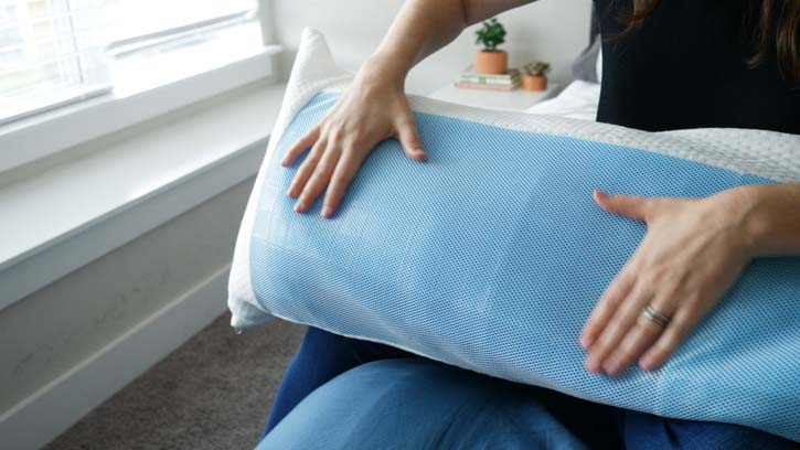 Mindful Design Cooling Memory Foam Body Pillow Cover