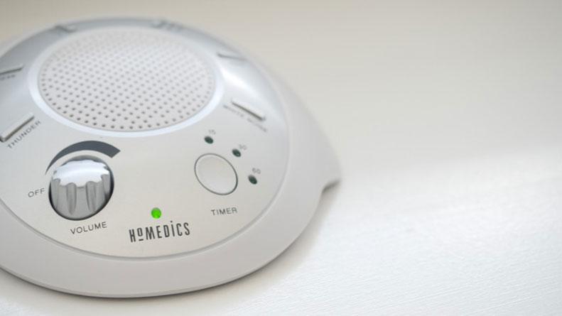 HoMedics SoundSpa Sound Machine On NightStand