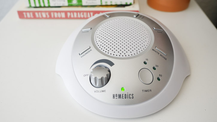 HoMedics SoundSpa Sound Machine LED Light