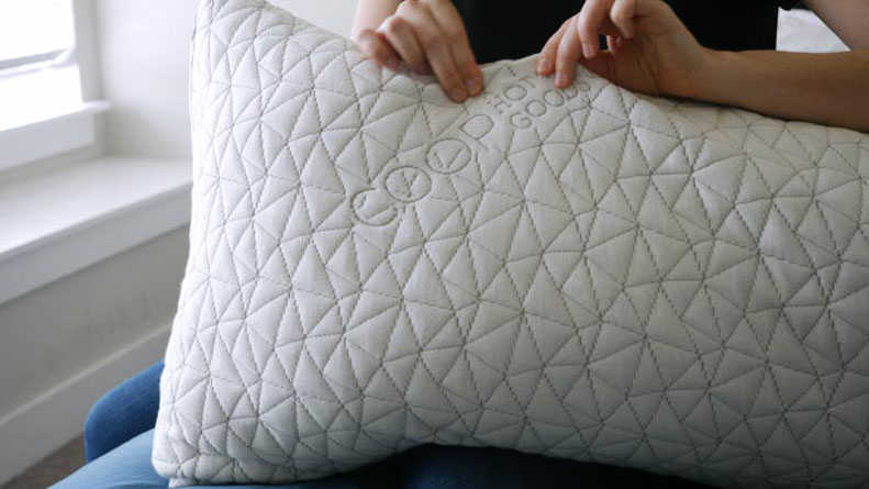 Rayon derived from bamboo cover of the Coop Home Goods Body Pillow