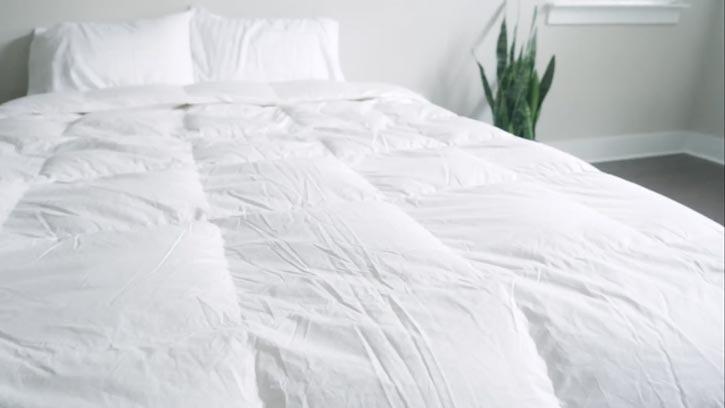 The Top Of The Brooklinen Down Comforter