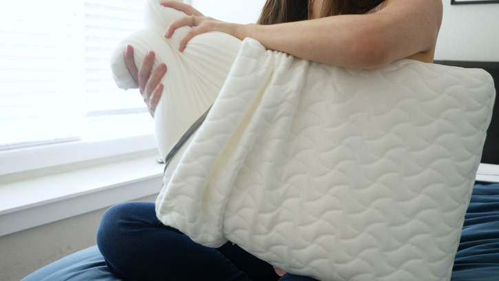 TEMPUR-Cloud Pillow Has Extra Soft Solid Memory Foam Core