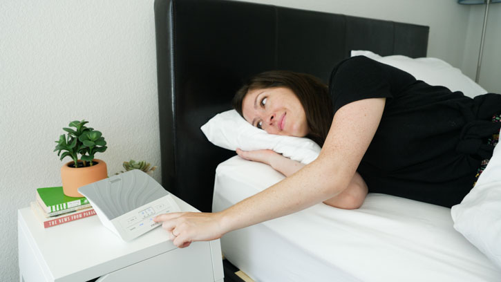 HoMedics Deep Sleep Sound Machine is easy to use