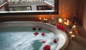 Pretty bath