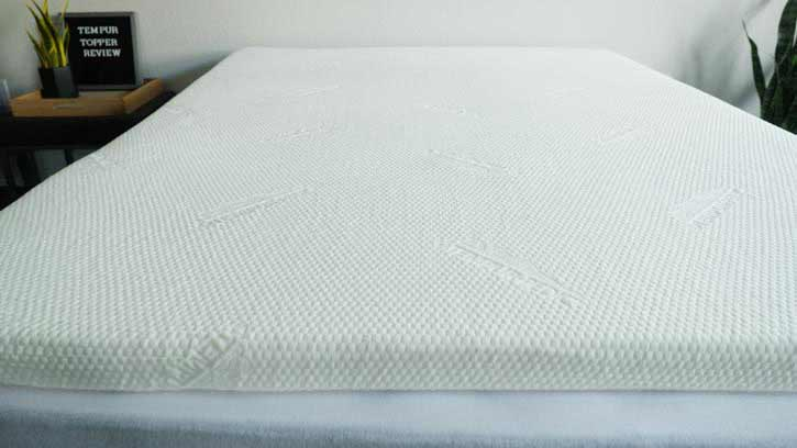 Top Of The Tempur Topper Supreme Mattress Topper
