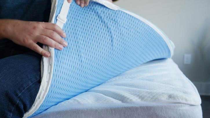 ViscoSoft Mattress Topper Bottom