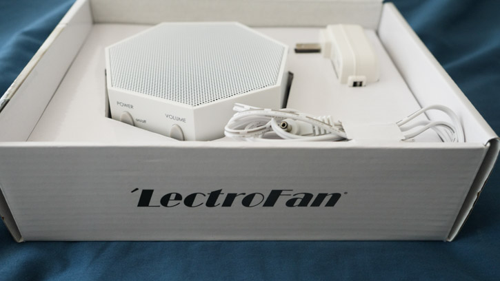 'LectroFan Classic White Noise Machine come with 20 different white noise and fan sounds