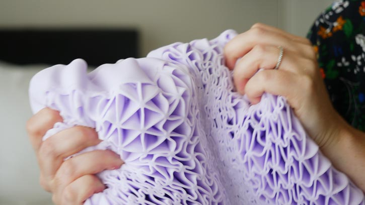 Purple Pillow Review hyperelastic polymer