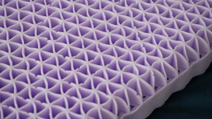 Purple's Hyper-Elastic Polymer® Smart Comfort Grid™