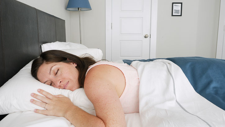Stomach sleepers may find the Casper Down pillow too supportive