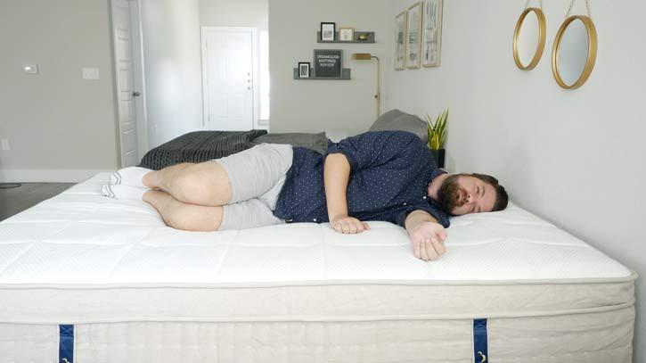 DreamCloud Mattress Side Sleeping