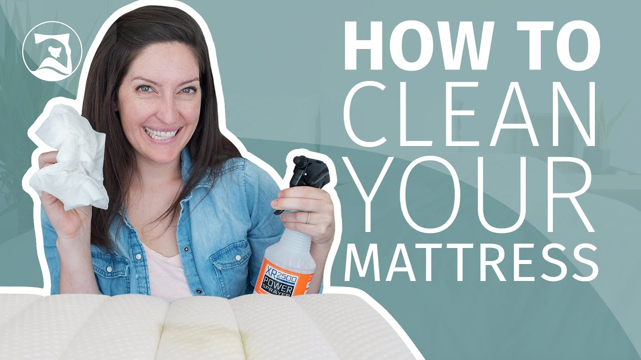 How To Clean Mattress Stains Urine Blood And More Video