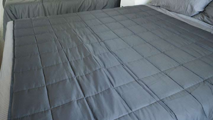 Luxome Weighted Blanket Construction