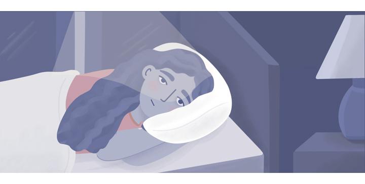woman with ASD having insomnia
