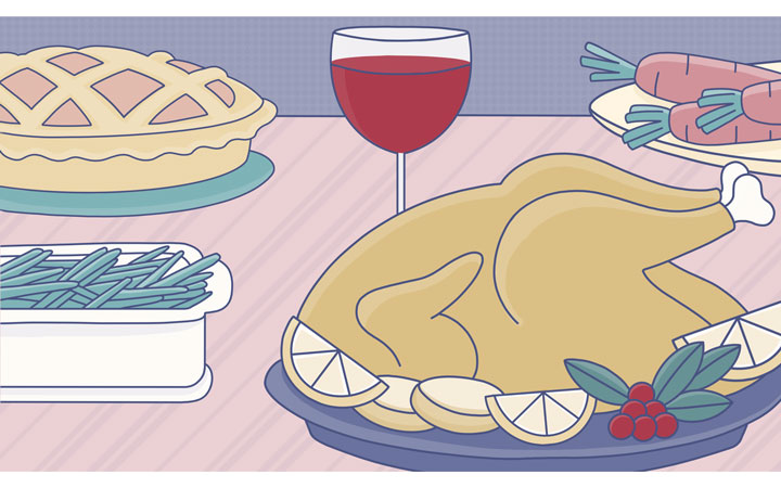 thanksgiving turkey may not cause drowsiness