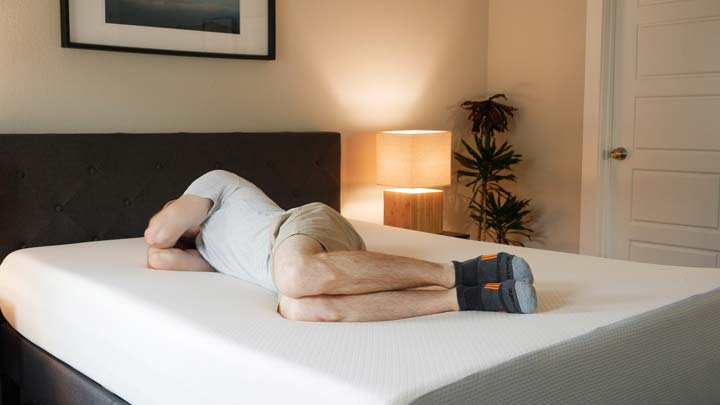 Side Sleeping On The AmazonBasics
