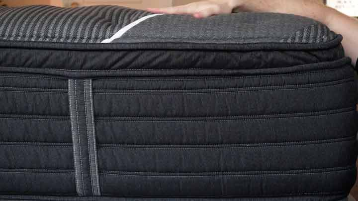 Beautyrest Black Mattress Construction