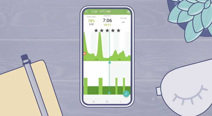Sleep As Android on Android smartphone