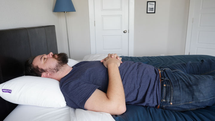 Purple Harmony tall version - good fit for heavier sleepers