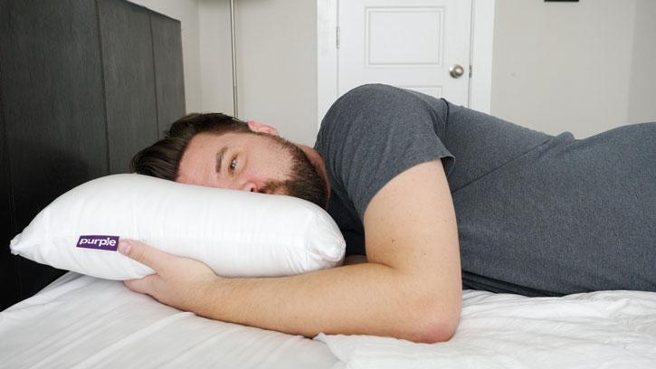Heavier side sleepers may like the Purple Plush