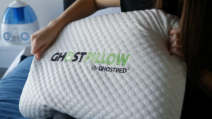 Key features of the Gel Memory Foam Ghostpillow