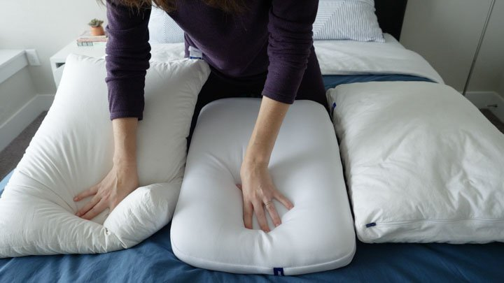 Casper Pillow Review - original vs. foam vs. down