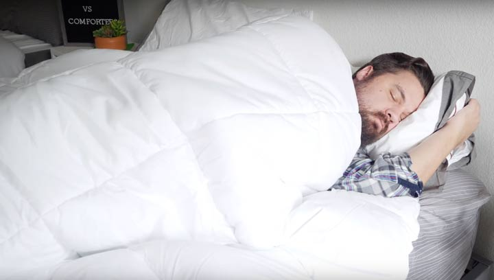 Comforter - Sleeping