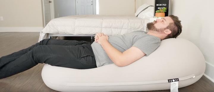 Moon Pod Chair Review - Lounging
