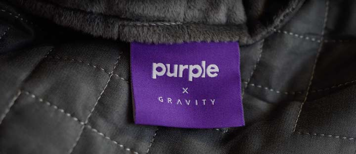 Purple Gravity Weighted Blanket Review