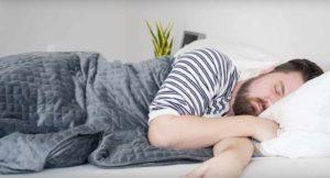 Best Weighted Blanket - Side Sleeping