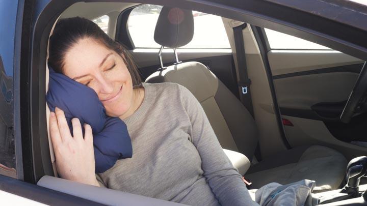 best travel pillows 2020 - car travel