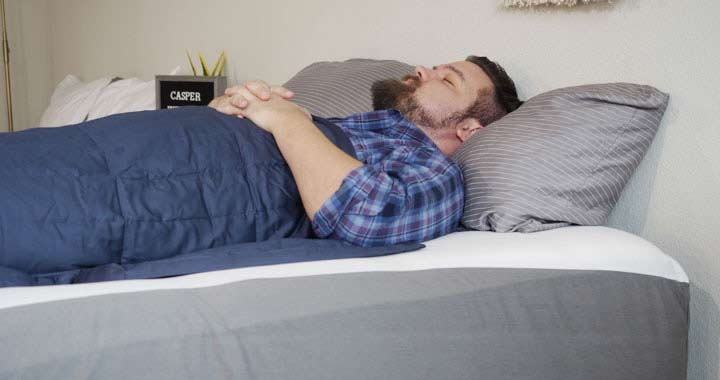 Casper Weighted Blanket - Weight Distribution
