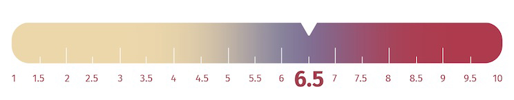 Nectar Lush Firmness Scale