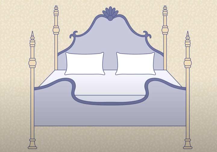 Antique Bed Graphic