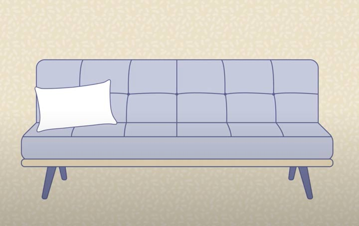 Futon Bed Graphic