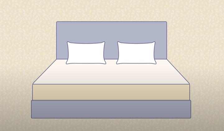Platform Bed Graphic