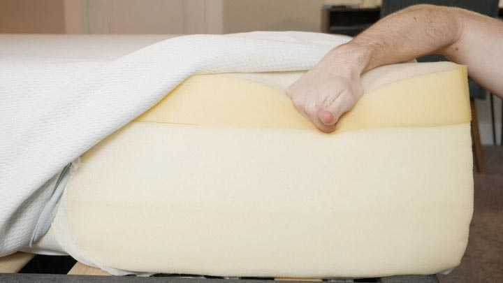 Vaya Mattress - Construction And Foam Layers