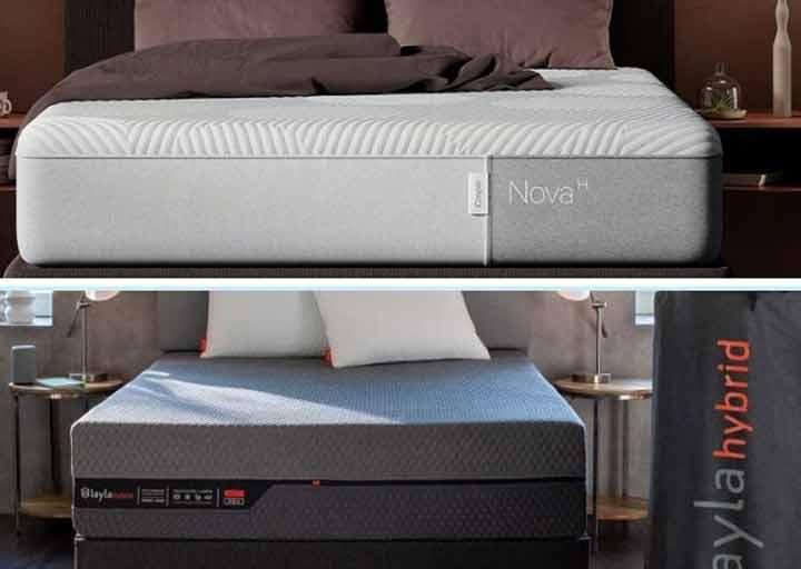 Casper Nova Hybrid Vs Layla Hybrid