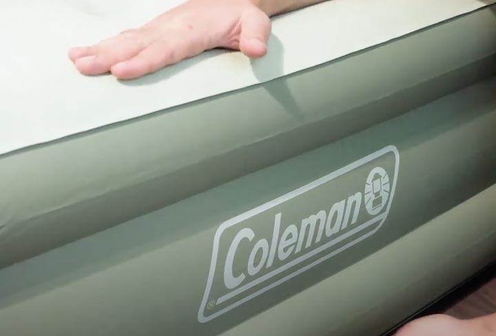 Coleman Air Mattress - Construction