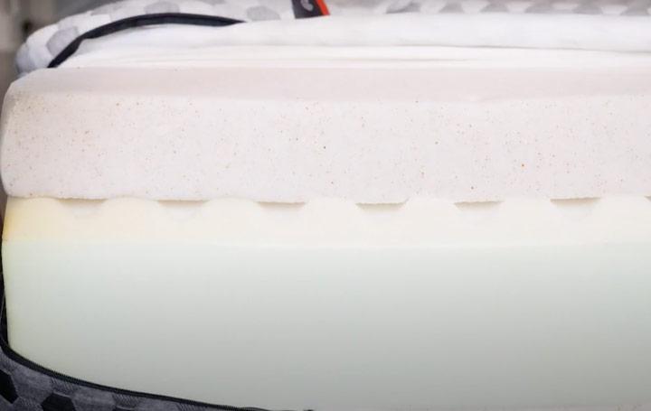 Layla Mattress - Construction And Foam Layers