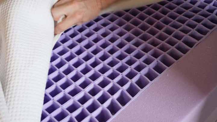 Purple Mattress - Gel Grid
